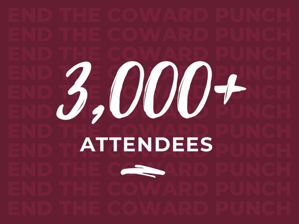 Pat Cronin Foundation - 3,000 attendees