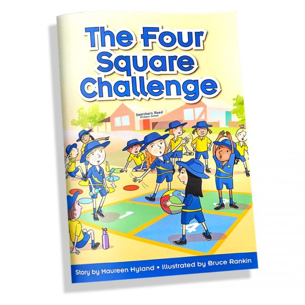 The Four Square Challenge - Pat Cronin Foundation Story Book 2